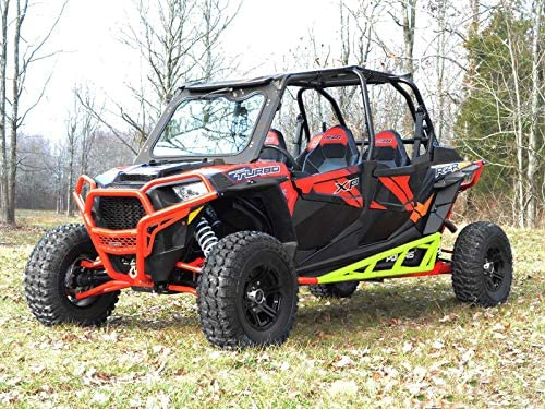 - Lime Squeeze 2014+ Compatible With Our Full Protection Kit! SuperATV Nerf Bars//Tree Kickers//Rock Sliders for Polaris RZR XP 4 1000