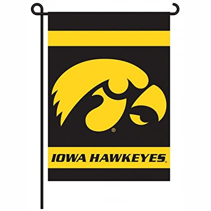 Amazon.com : Iowa Hawkeyes 2-Sided Garden Flag : Sports Memorabilia