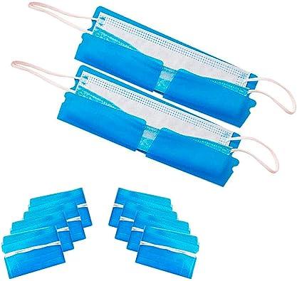 10 Pack] Guarda Mascarillas. Estuche Porta Mascarillas de plástico para Proteger Tus mascarillas. 5 Fundas para Evitar Que se contaminen Tus mascarillas: Amazon.es: Joyería