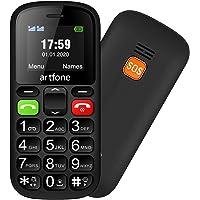 Artfone CS181 gsm Teléfonos Móviles para Mayores con SOS botón   Teléfono Celular de botón Grande   Pantalla de 1,77…