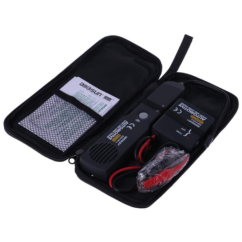 haia7k4k Universal EM415PRO Kfz-Kabel-Tracker, kurz- und offener Stromkreisfinder, Reparatur-Detektor fü r Kfz, 6– 42 V