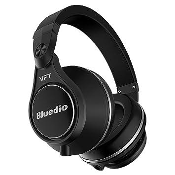 Bluedio U Plus (UFO) Pro Extra Bass Wireless Bluetooth headphones Patented  PPS12 Drivers Over 74530aa8de