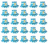 Beistle 66214-25 25-Pack Oktoberfest Hi-Hats