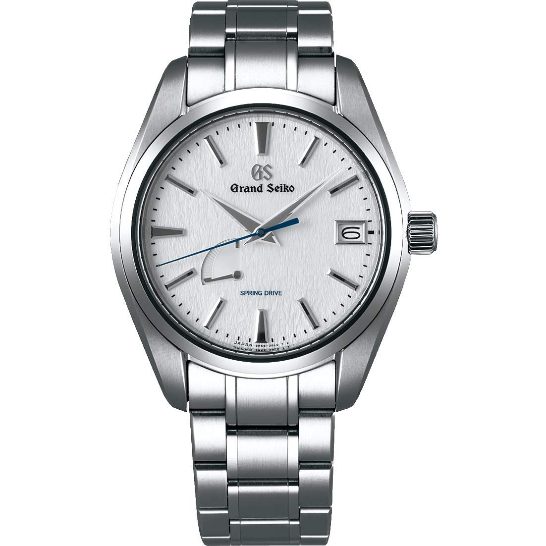 Grand Seiko, Silver Watch, Dive Watch, Stainless-steel Watch, Date Display