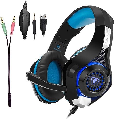 Auriculares para videojuegos para PS4, Tezewa, Xbox One, juegos ...