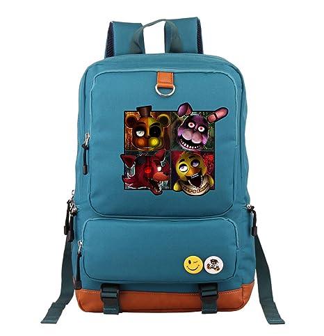 Miracleoccur Unisex Game Mochilas Escolares Backpacks para Niños y Niñas Adolescentes Libros Satchel Daypack Casual Moda