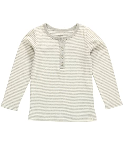 db58e0eed95 Amazon.com  Carter s Little Girls  Sparkle Henley Tee (5 Toddler ...