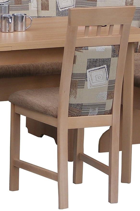 Banco, de la cocina para el cuello y banco de madera, 2 sillas, 1 ...