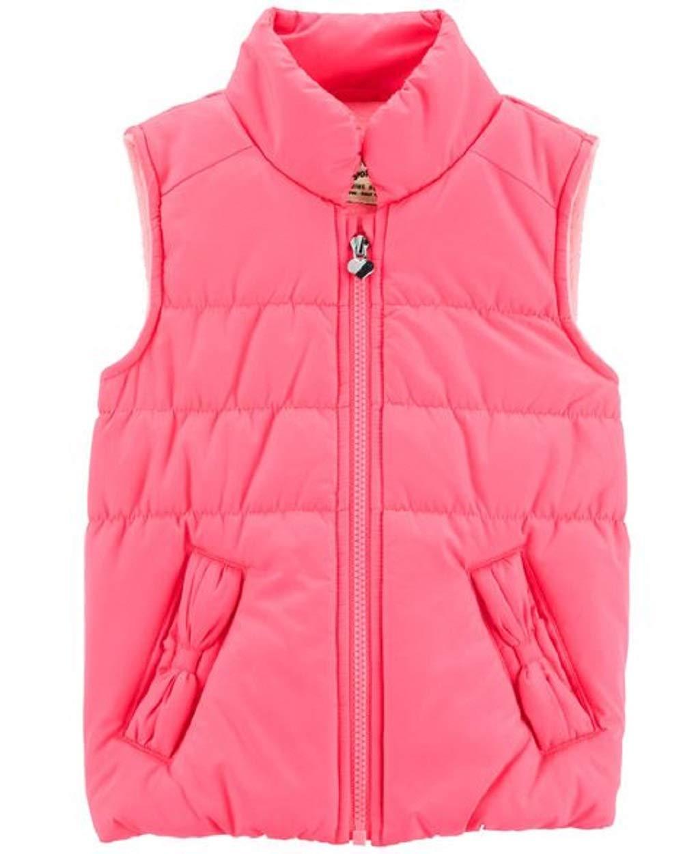 OshKosh B'Gosh Girls Colorblock Vest Size 4/5 Pink by OshKosh B'Gosh