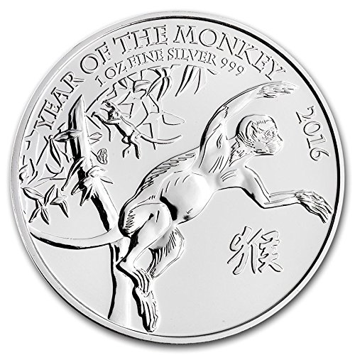 Lunar Year of the Monkey 2016 by Royal Mint Lunar Series