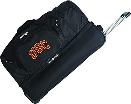NCAA Unisex-Adult NCAA Rolling Drop-Bottom Duffel