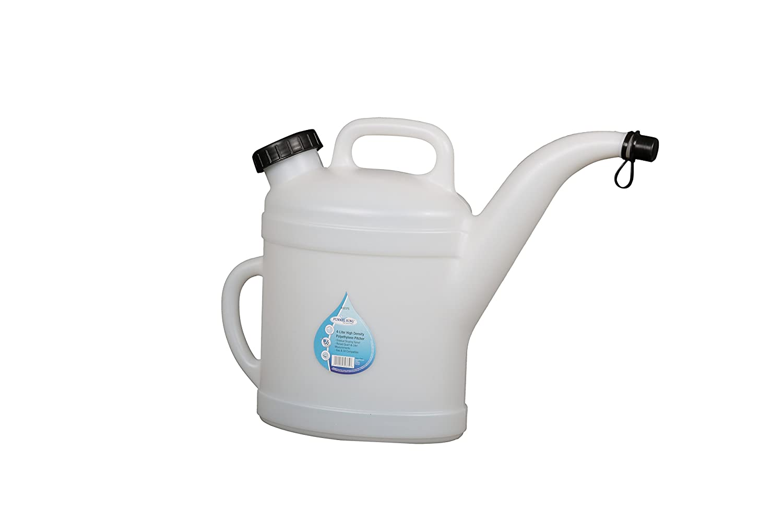 WirthCo 32375 Funnel King High Density Polyethylene Pitcher 6 Liter Capacity