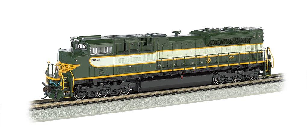 Bachmann 66002 H0 EMD SD70ACe w/Sound & DCC - Heritage Editions -- Norfolk Southern  1068 (Erie; 2-Tone Grün)