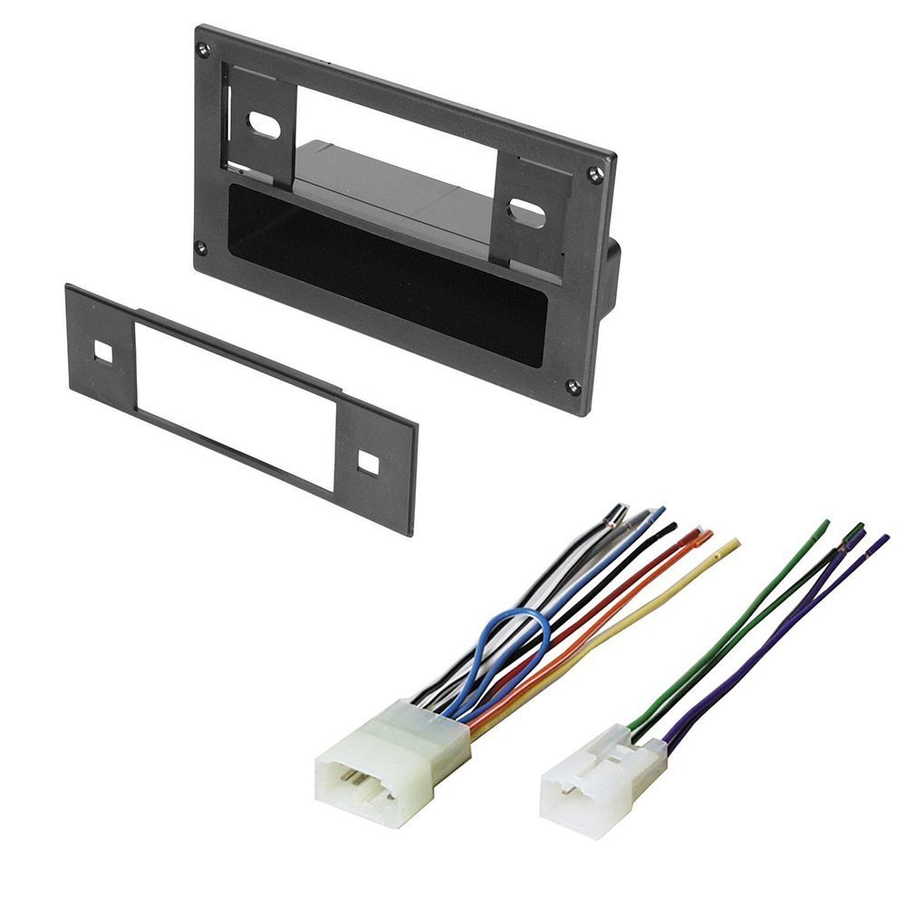 amazon com: scion 2004-2011 xb car stereo radio dash installation mounting  kit w/wiring harness: car electronics