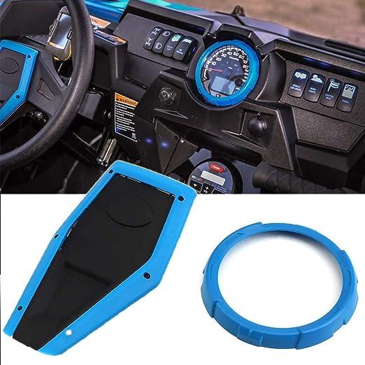 Amazon.com: RZR 1000 Steering Wheel Cap and Speedometer Bezel compatible for 2014 Polaris Polaris RZR 1000 / XP 4 1k Blue: Automotive