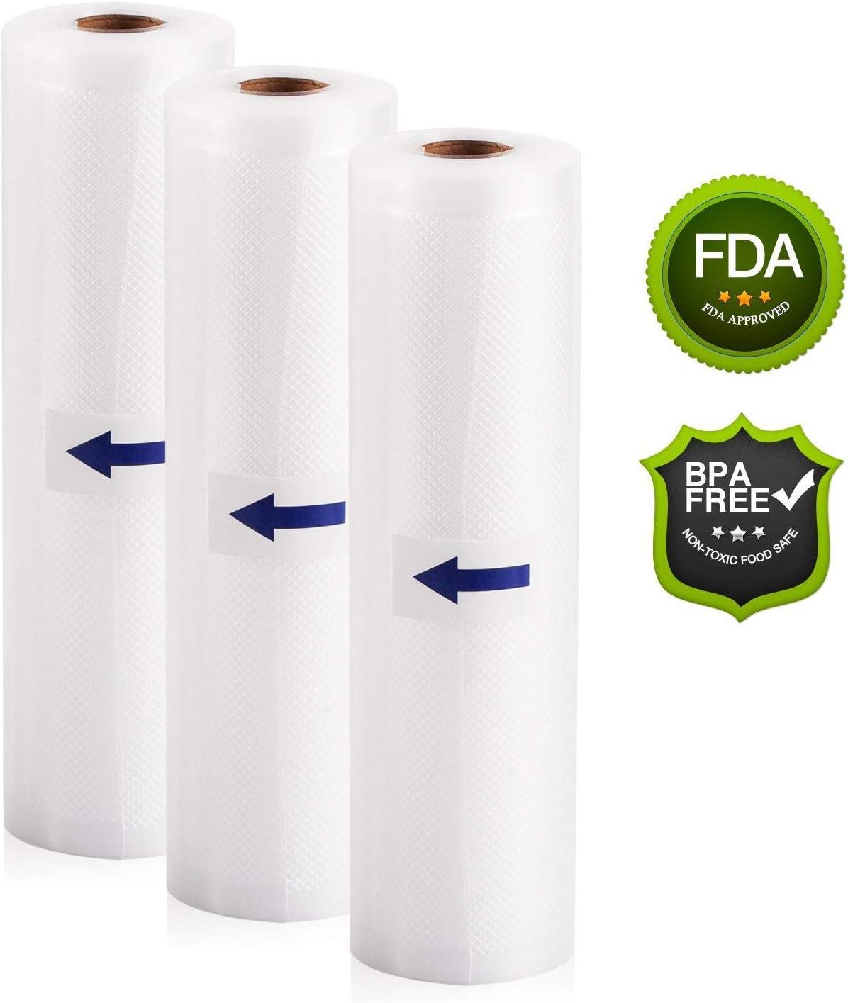 Pack de 3 Rollos Bolsas Paquete para Dispositivo Envasadora ...