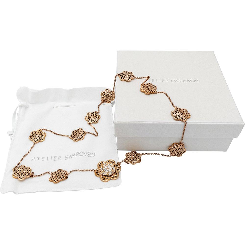 Swarovski Atelier Flower of Love - Ye Mingzi 5178247 Rose Gold Plated Necklace