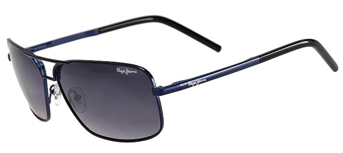 a2ce0721c54fa Lunettes de soleil Pepe Jeans PJ 5079 Bleu  Amazon.fr  Vêtements et ...