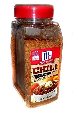 Amazon Com Mccormick Original Chili Seasoning Mix 14 Oz Shaker Bottle Grocery Gourmet Food