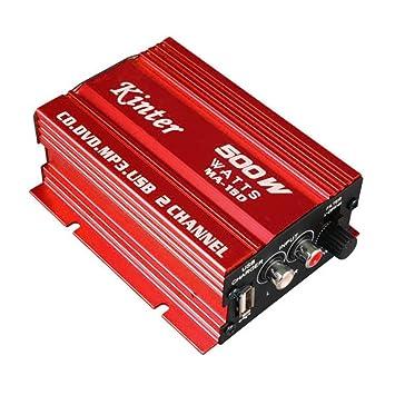 Kinter MA-150 amplificador estéreo Digital amplificador para coche motocicleta y Barco (Max Power