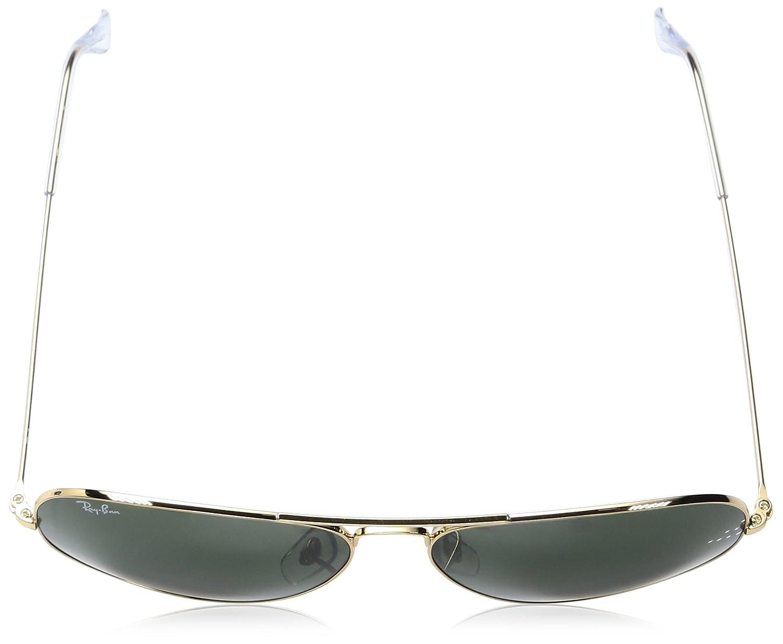3dc89cb0f8881 Ray-Ban RB 3025 Gafas de sol Gold 62 para Hombre  Amazon.es  Ropa y  accesorios