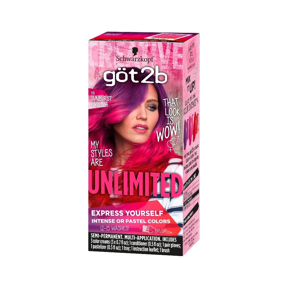 Got2b Color Unlimited Sunburst Collection (Pack of 20) by GENERIC (Image #1)
