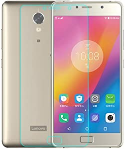 Kepuch Lenovo Vibe P2 Screen Protector - 2 Pack Tempered Glass Film 9H Hardness Curved Edge Protection for Lenovo Vibe P2
