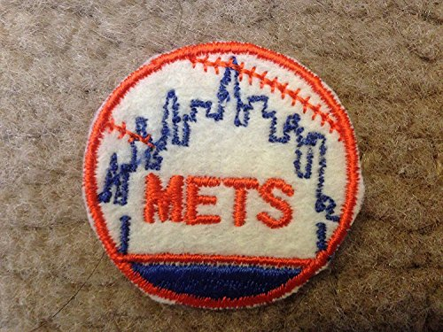 (1970 NEW YORK METS IRON ON PATCH EMBROIDERED 2