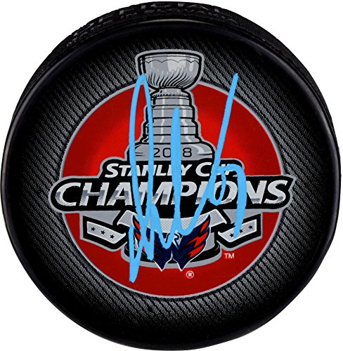 Washington Memorabilia (Alex Ovechkin Washington Capitals 2018 Stanley Cup Champions Autographed Stanley Cup Champions Logo Hockey Puck - Fanatics Authentic Certified)