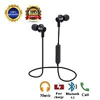 Auricolari Bluetooth, Cuffie Bluetooth Senza Fili In-Ear Wireless auricolare bluetooth V4.1 Cuffia Invisibile per iPhone 8/8x/7 Samsung Galaxy S7 S6 Edge+S5, Note 4/3 Sony Huawei P9 P10 P20 Smartphone (bluetooth headphones--1)