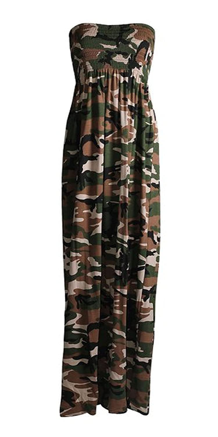 1231179e0f933 Style Fashion-womens Plus Size Army Camouflage Print Sheering at Amazon  Women's Clothing store: