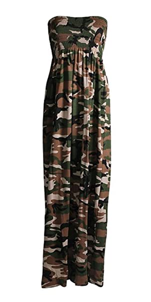 STYLE FASHION-Womens Plus Size Army Camouflage Print ...