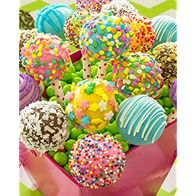 Springbok Puzzles - Cake Pops - 1000 Piece Jigsaw Puzzle - Large 24 Inches by 30 Inches Puzzle - Made in USA - Unique Cut Interlocking Pieces: Toys & Games