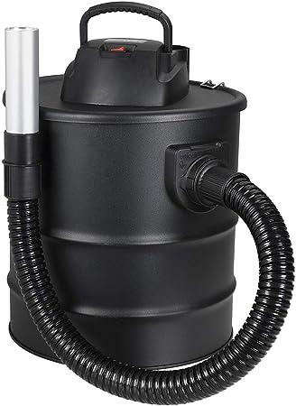 cenizas Aspiradora Cubo 1200 W con Función soplador capacidad 20 L Ideal para la limpieza de chimeneas estufa palets corto: Amazon.es: Hogar