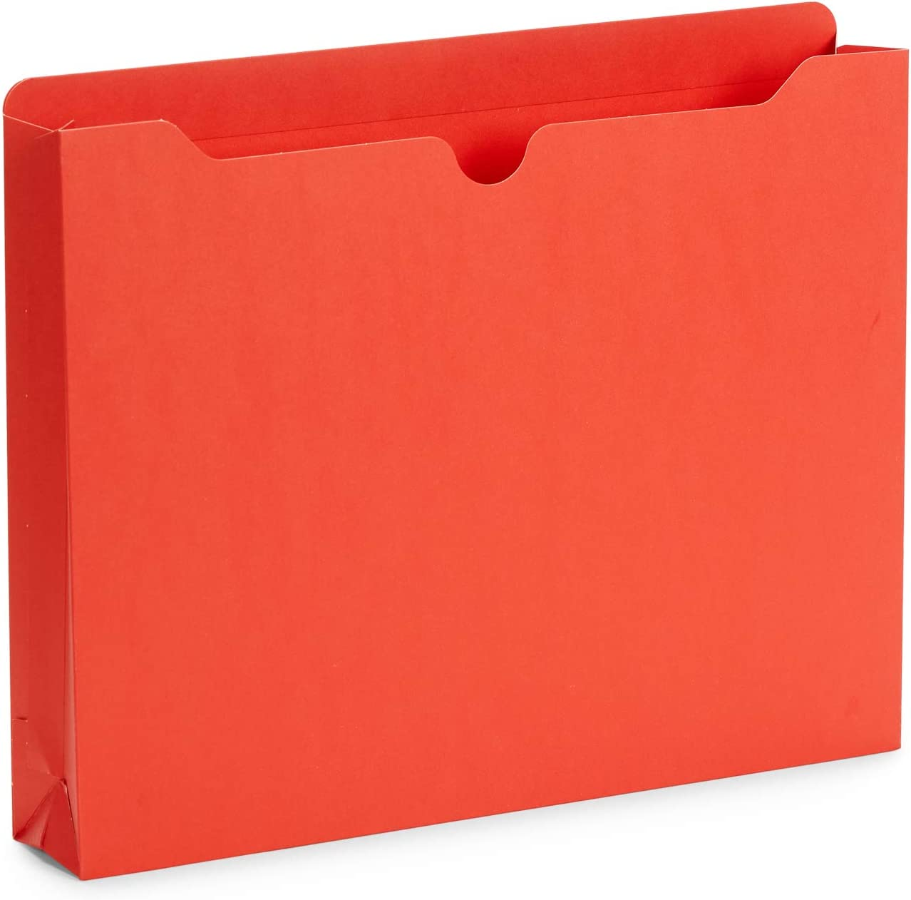Blue Summit Supplies 2 Inch File Jackets, Reinforced Straight Cut Tab, Heavy Duty 2 Inch Expansion Pocket, Letter Size, Assorted Colors, 25 Pack : Office Products