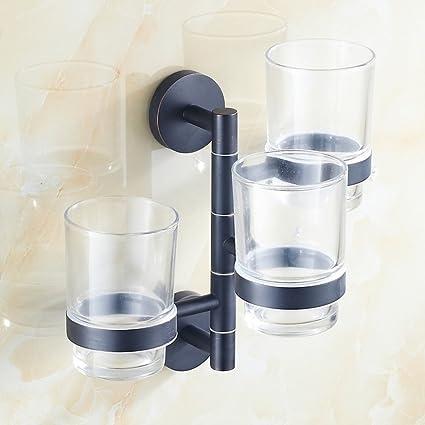 actividades cobre toalla estante/Toallero de barra/Sostenedor del vaso cepillo de dientes rotatorio