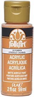 product image for FolkArt Acrylic Paint in Assorted Colors (2 oz), 225, Pumpkin