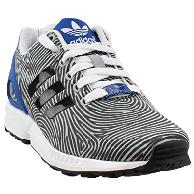 26c9b2278976 adidas Men s ZX Flux Originals Running Shoe Clear Onix Grey Black 10.5 D(