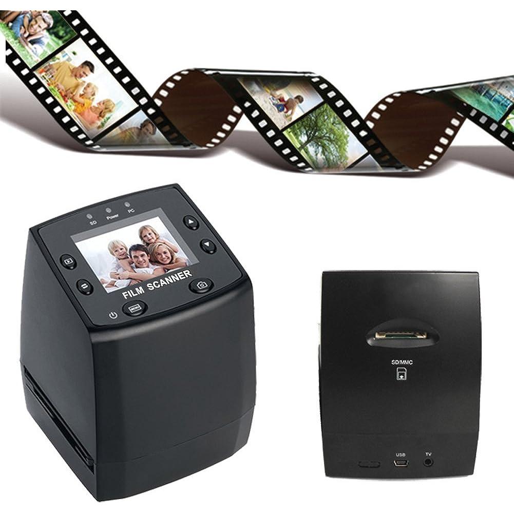 Mit manchen Geräten können Sie neben Dias auch Negativfilme einscannen.