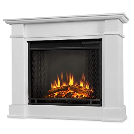 Amazon.com: Devin Indoor Electric Fireplace, White: Home & Kitchen