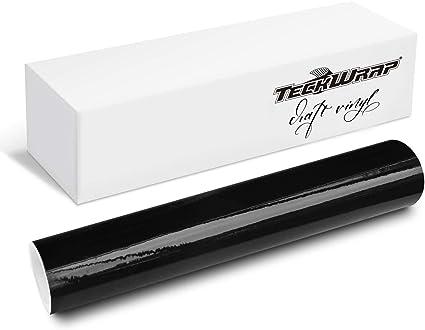 30cmx3m Brillante Negro adhesivo de rodillo de vinilo para signo Plotters, cartas, calcomanías y cortadores de artesanía: Amazon.es: Oficina y papelería