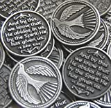 Set of 10 Dove Holy Spirit Pocket Token Coins