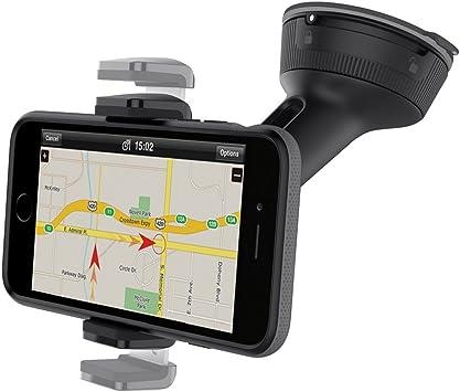 Belkin - Soporte de smartphone universal para coche (para iPhone 11/11 Pro/11 Pro Max, XS/XS Max, XR/X, SE, 8/8+, Samsung Galaxy Note9, S10/S10+/S10e y dispositivos de LG Sony y Google entre otros):