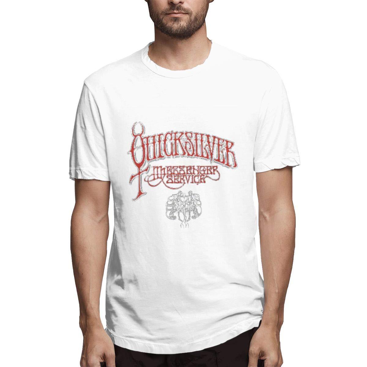 Lihehen Quicksilver Messenger Service Round Neck Ts Shirts