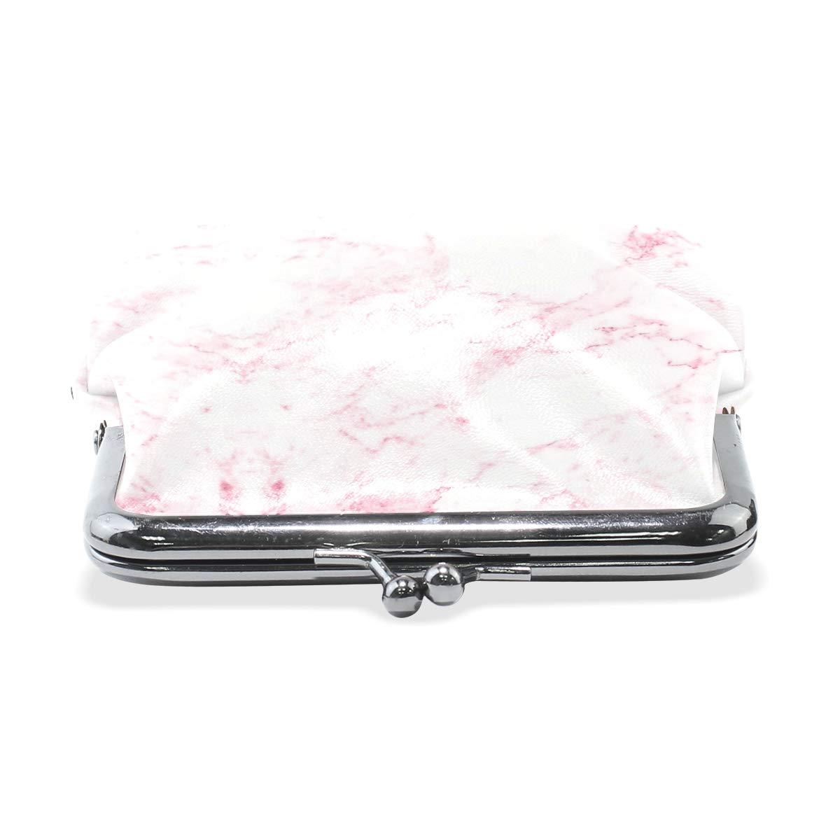 Pink Marble Rock Mini Coin Purse Clutch Bag Cute Coin Purse Retro Bag Minimalist Coin Purse Men//Women Super Fashion Coin Purse