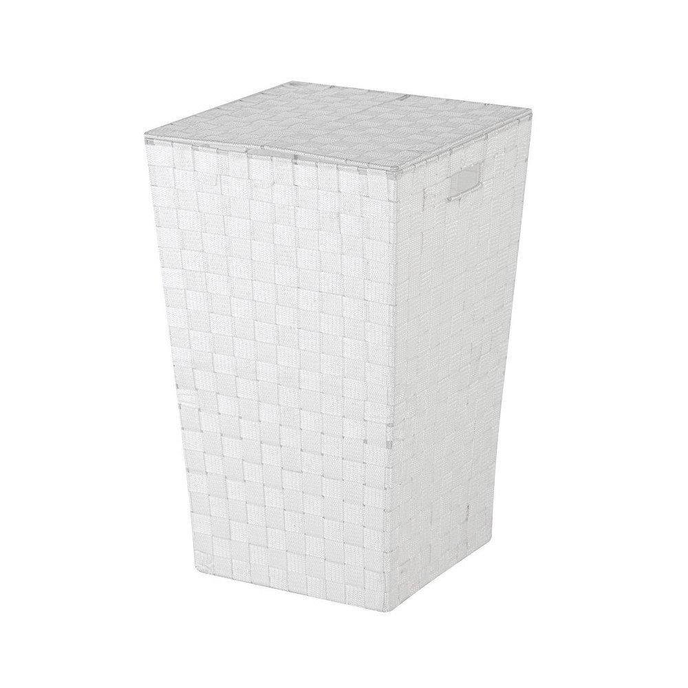 FERIDRAS Laundry Portabiancheria, Poliestere, Bianco, 33x33x54 cm Brand 557008 FRDR-557008_Bianco