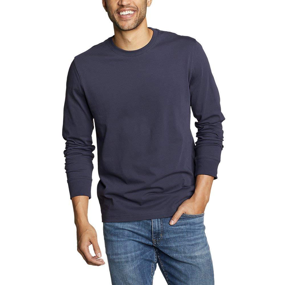 Eddie Bauer Unisex-Adult Mens Legend Wash Pro Long-Sleeve T-Shirt