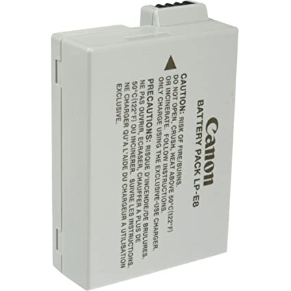 Ideal as either a replacement or a spare, the canon lp-e8 lithium-ion camera battery keeps your canon eos 600d, 650d or 700d charged and ready to go.