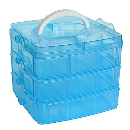 .com: storage box ,ieason clearance sale! clear plastic craft ...
