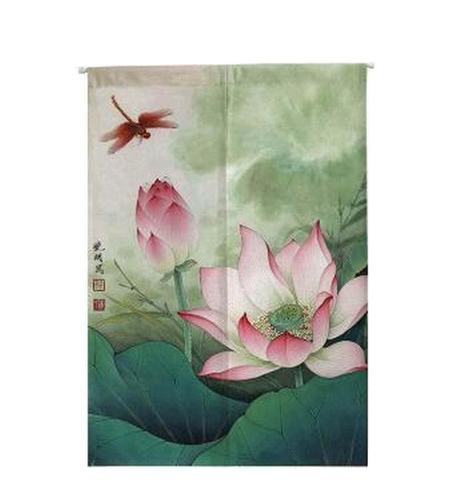 Black Temptation [Dragonfly] Japanese Noren Curtain Entrance Curtain Doorway Curtain Wall Decor by Black Temptation